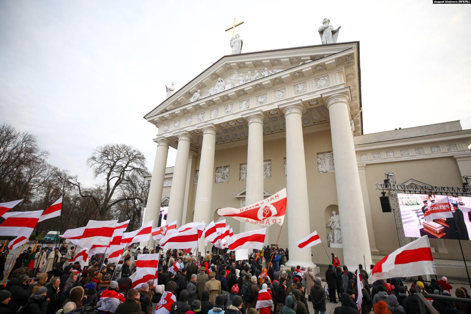 22 лістапада 2019 года віленскія ўрачыстасьці перапахаваньня Кастуся Каліноўскага