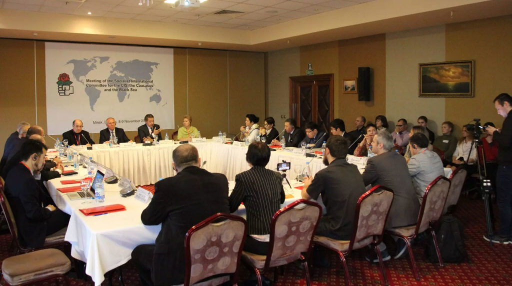 Socialist International Committee for the CIS, the Caucasus and the Black Sea