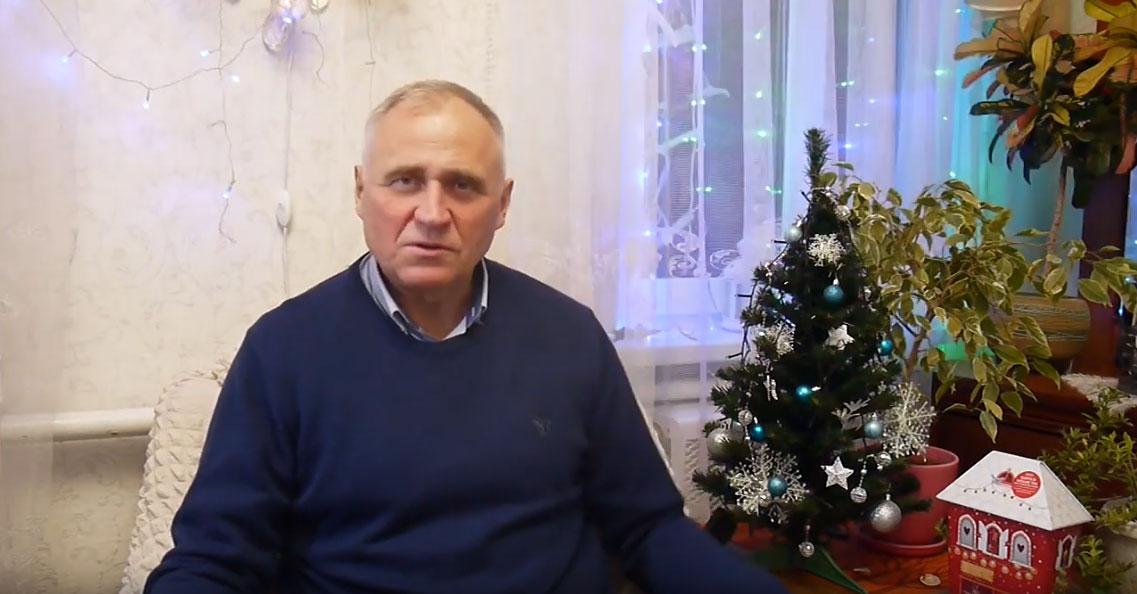 Навагодняе віншаванне Мікалая Статкевіча